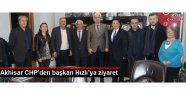 Akhisar CHP'den başkan Hızlı'ya ziyaret