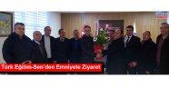 Türk Eğitim-Sen'den Emniyete Ziyaret