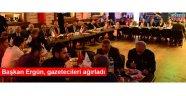 Başkan  Ergün, Gazetecileri ağırladı