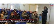 Akhisar İlçe Milli Eğitimden örnek proje