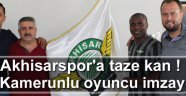 Kamerunlu oyuncu imzayı attı