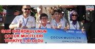 Gaziortaokulu'nun mucitleri Türkiye 1. si oldu