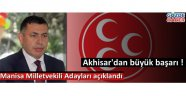MHP Manisa Milletvekili adayları açıklandı