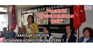 Akhisar CHP'den boşanma komisyonuna tepki !