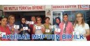 Akhisar MHP'den bir ilk
