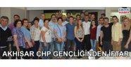 Akhisar CHP gençliğinden iftar