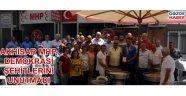 Akhisar MHP demokrasi şehitlerini unutmadı