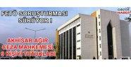 Akhisar'da 9 kişi tutuklandı