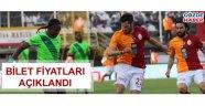 Akhisarspor - Galatasaray maçı bilet fiyatları açıklandı