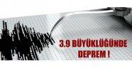 Akhisar'da 3.9 büyüklüğünde deprem