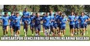 Akhisarspor Gençlerbirliği maçına hazırlanıyor