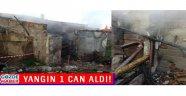 Akhisar' da Çıkan Yangında 1 Kişi Hayatini Kaybetti!