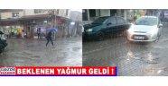 Akhisar'da beklenen yağmur geldi!