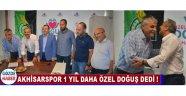 Akhisarspor 1 Yıl Daha Özel Doğuş Dedi !