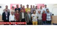 """Akhisar'da """"BABA"""" toplantı !"""