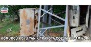 Kömürcü Köyü Yanık Trafoya Çözüm Bulamıyor !