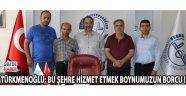 Yeni Müftü Türkmenoğlu; bu şehre hizmet etmek boynumuzun borcu !