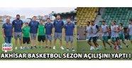 Akhisar Basketbol Sezon Açılışını Yaptı !