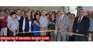 Akhisar'da El Sanatları Sergisi Açıldı