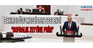 """BAKIRLIOĞLU MECLİSTEN SESLENDİ """"Sofralık Zeytine Prim"""""""