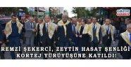 Remzi Şekerci, Zeytin Hasat Şenliği Kortej Yürüyüşüne Katıldı!