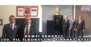 Remzi Şekerci, 100. Yıl İlkokulunu Ziyaret etti