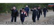 Doğa yürüyüşlerinde bu hafta rota Hasköy parkuru oldu!