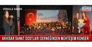Akhisar Sanat Dostları Derneği Türk Halk Müziği Konseri!