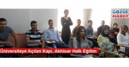 Üniversiteye Açılan Kapı  Akhisar Halk Eğitim
