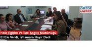 Halk Eğitim Ve İlçe Sağlık Müdürlüğü El Ele Verdi, İstismara Hayır Dedi