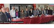 Akhisar CHP Öğretmen üyelerini unutmadı
