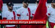 Akhisarlı Milli Kaleci Dünya şampiyonluğuna uzandı