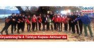 Oryantiring'te 4 Türkiye Kupası Akhisar'da