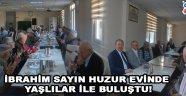 Ak Parti Akhisar İlçe Teşkilat Başkanı İbrahim Sayın, huzur evinde yaşlılar ile buluştu.
