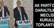 Ak Partiden Daraltılmış Meclis Kurul Toplantısı !