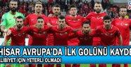 Akhisar Avrupa'da ilk golünü kaydetti ! Galibiyet için yeterli olmadı !