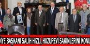 Akhisar Belediye Başkanı Salih Hızlı, huzurevi sakinlerini konuk etti !