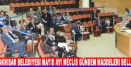 Akhisar Belediyesi Mayıs Ayı Meclis Gündem Maddeleri Belli Oldu !