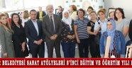Akhisar Belediyesi Sanat Atölyeleri 8'inci eğitim ve öğretim yılı başladı!