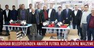 Akhisar Belediyesinden Amatör Futbol Kulüplerine Malzeme Desteği