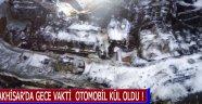 Akhisar'da Gece Vakti  Otomobil Kül Oldu !