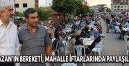 Akhisar'da Ramazan'ın Bereketi, Mahalle İftar Sofralarında Paylaşılıyor !