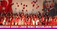 Akhisar Eksen Lisesi İkinci Mezunlarını Verdi !