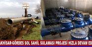 Akhisar-Gördes Sol Sahil Sulaması Projesi Hızla Devam Ediyor…