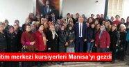 Akhisar Halk Eğitim merkezi kursiyerleri Manisa'yı gezdi