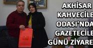 Akhisar Kahveciler Odası'ndan Gazeteciler Günü Ziyareti !