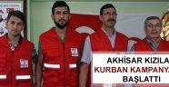 Akhisar Kızılay kurban kampanyasını başlattı