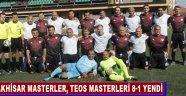 Akhisar Masterler, TEOS Masterleri 8-1 Yendi