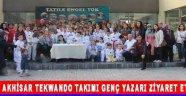 Akhisar Tekwando Takımı Genç Yazarı Ziyaret Etti !