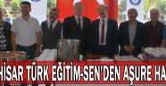 Akhisar Türk Eğitim-Sen geleneksel hale getirdiği aşure hayrını gerçekleştirdi.